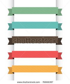 stock vector : Retro navigation banners