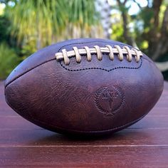 c11a476b50 Heritage Football Recreational Sports, Vintage Leather, Leather And Lace,  Brown Leather, Custom
