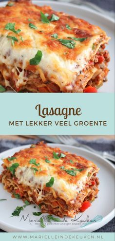 Pasta Recipes, Cooking Recipes, Healthy Recipes, Food Vans, 30 Minute Meals, Daily Meals, Eat Smarter, Food For Thought, Lasagna