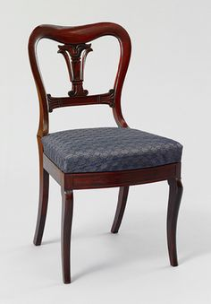 Attributed to Duncan Phyfe: Side chair (68.202.1) | Heilbrunn Timeline of Art History | The Metropolitan Museum of Art