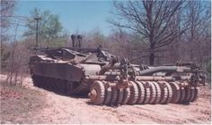 """Vehiculo contra obstáculos (COV) M-60 STS """"Panther"""""""