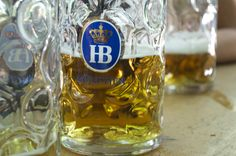 ***When in Germany having a beer from one of Munich 's oldest breweries, the Hofbrauhaus, is a must.