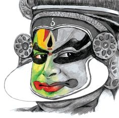 Kathakali illustration