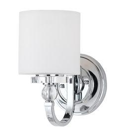 Sussex Tube Sconce Single Set Of Polished Nickel Finish - Polished chrome bathroom sconces