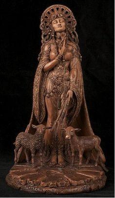 Pagan by Design: Imbolc ~ Blessing of Brigid Great goddess, Bride, Brigid,