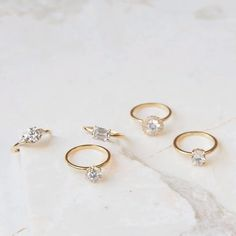 Diamond Engagement Rings from Vrai and Oro Wedding (VOW) Modern Engagement Rings, Round Diamond Engagement Rings, Designer Engagement Rings, Diamond Rings, Wedding Accessories, Wedding Jewelry, Wedding Rings, Round Cut Diamond, Diamond Cuts