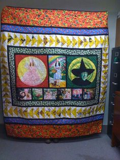 Wizard of Oz' collage quilt. | Collage, Entertainment book and ... : quilts by the oz - Adamdwight.com
