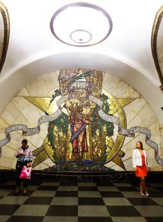 Metro #Moscow #Russia #Photography