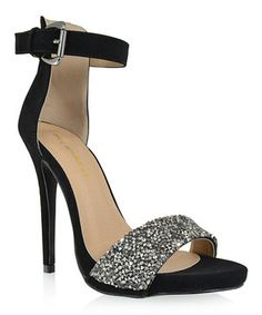 Another great find on #zulily! Black Shimmer Kesha Pump by Shoe Republic LA #zulilyfinds