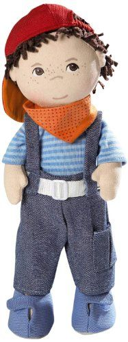 Haba 12″ Soft Doll ~ Graham
