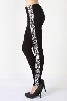Aztec print leggings Vocal brand sizes S M L XL