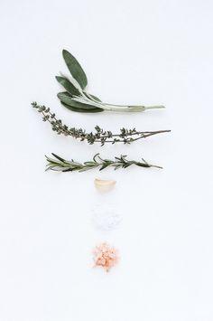 Herbed sea salt | oil & herbs . Öl & Kräuter . huile & herbes | Recipe: Besotted |