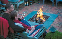 Warm up with these backyard fire pit projects.