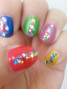 Day 29 in 31 Days of Summer Nail Art