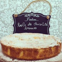 Bolo de chocolate branco / White Chocolate Cake