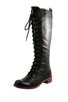 Gee Wawa Topper Lace-Up Tall Boot