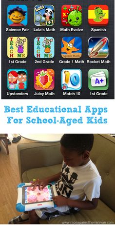 Great for homeschool families!  Rage Against the Minivan: best education apps for school-aged kids