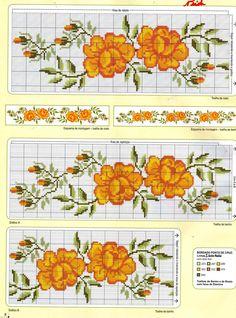 CURIOSA CORUJA: Grafico Ponto Cruz - Flores