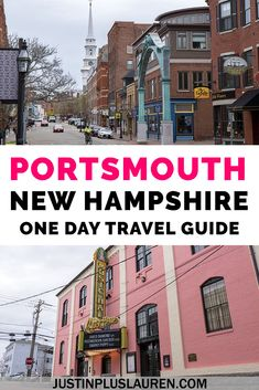 The Best Things to Do in Portsmouth, New Hampshire: 1 Day Travel Itinerary