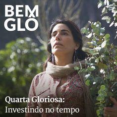 """""""Uma caminhada de mil milhas começa com o primeiro passo"""" (Lao-Tsé).  Saiba por que esta frase inspira Gloria Pires em seu dia a dia. Confira o post Glorioso de hj, vem! #bemglo #quartagloriosa #tempo"""