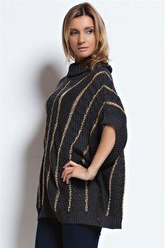 Gold Knit Becca Sweater