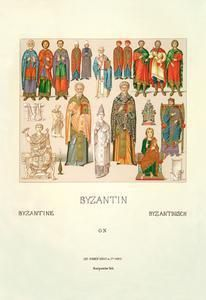 Art Print Byzantin 28x42 New DB-24579