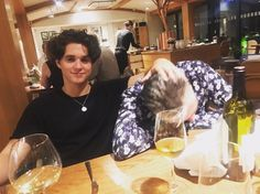 Brad and his dad❤