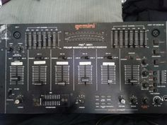 vintage GEMINI-(USED) PMX- 3501 Pre/amp mixer/sound effect/echo------missing DC cable 60$ or BO