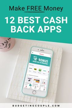 Did you know you can make money for free on your phone? Check out these 12 cash back apps that help you earn money in your free time! Start building your savings and stop living paycheck to paycheck. Budgetingcouple.com #makemoney #sidehustle #hacks Save Money On Groceries, Ways To Save Money, Money Saving Tips, How To Make Money, Money Hacks, Earn Free Money, Make Money Online, Budgeting Finances, Budgeting Tips