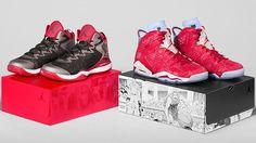 "NIKE, Inc. - Inside Access: Jordan Brand Brings to Life Iconic ""Slam Dunk"" Comic in Epic Collaboration Nike Kicks, Nike Snkrs, Nike Air, Blake Griffin Shoes, Rugby, Slam Dunk Manga, Basket Style, Baskets, Sneakers Fashion"