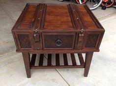 furniture on Pinterest | Metal Shelves, Antique Wood and ...