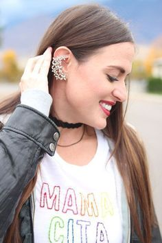 I recently found Happiness Boutique and I was overwhelmed with their selection. Pair their amazing jewelry with my DIY embroidered shirt and you're set! Funny Birthday Gifts, Birthday Gifts For Women, Marble Mugs, Novelty Gifts, Boutique, Fashion Stylist, Gifts For Friends, Valentine Day Gifts, Diy Fashion