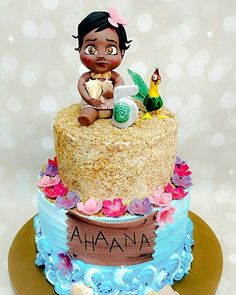 Moana cake for a 5 year old princess