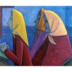 Werner Berg Betende Frauen 1958 Auguste Rodin, Eva Hesse, Agnes Martin, Richard Serra, Artists Like, Pray, Sculptures, Museum, Austria