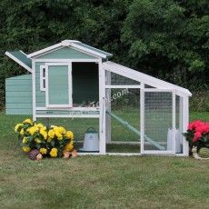 The Amy Chicken Coop with Run – Farm Fowl