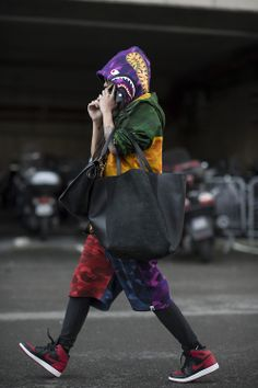 A Bathing Ape • Paris Fashion Week • Photo by Julien Boudet • bleumode.com