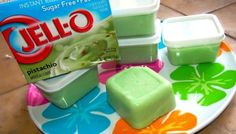 "Healthy take on Pistachio ""ice cream"". I used regular milk, and poured the pudding into popsicle molds. Cool refreshing treat!"