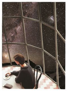 At the Cosmos Cafe | Lynn Skordal