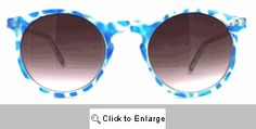 Marley Small Round Camptown Sunglasses - 368 Blue