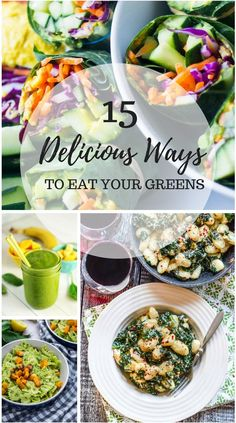 15 Delicious Ways to Eat Your Greens - Home & Plate