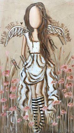 Angel Artwork, Angel Paintings, Original Paintings, Nurse Art, Angel Drawing, Angel Images, Africa Art, Canvas Art Prints, Art Pictures