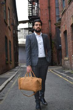 Kurtis Paul - Designer Mens Bag - The Sherlock modern day ...