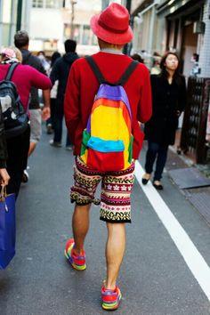 Colorful brader haha