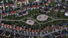 Quartier de Planoise Besançon photographie aérienne