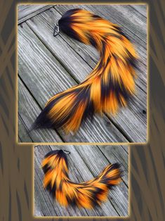 This is a commission for a client in Australia, they wanted a fox tail. I really happen to like this particular tail and wouldn't mind making one like it for myself when I have the spare time. ^-^ ...