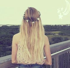 Day Dreaming ~ Inspired by Batiste Light & Blonde Down Hairstyles, Summer Hairstyles, Cute Hairstyles, Hairdos, Cute Hair Colors, Cute Asian Fashion, Let Your Hair Down, Light Blonde, About Hair
