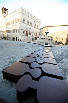 The famous chocolate festival 'Eurochocolate' in Perugia in Umbria, Italy - www.regioneumbria.eu