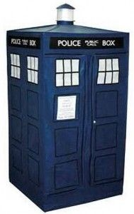 A tardis tent that of course does not make you travel in time like the Doctor