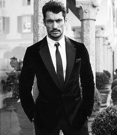 @davidgandy_official shot for @dolcegabbana ❤️ #pngprestige  in #milan @fsmilan | #supermodel #davidgandy #ultimateman | art direction @eliecrocettifraioli | @muzzy_tovvy @deborag70
