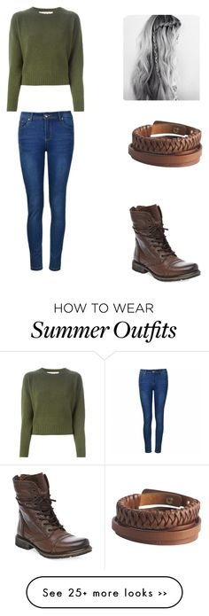 """Fall outfit"" by mariah-rose1 on Polyvore featuring Marni, Ally Fashion, Steve Madden and Pieces"